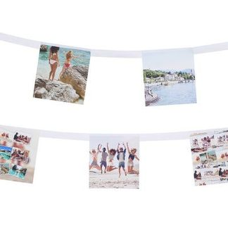 Foto Wimpelkette selbst gestalten