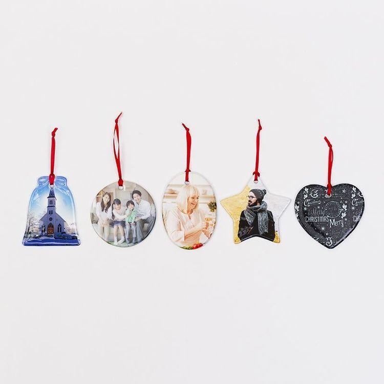 Multiple shapes christmas tree ornament designs