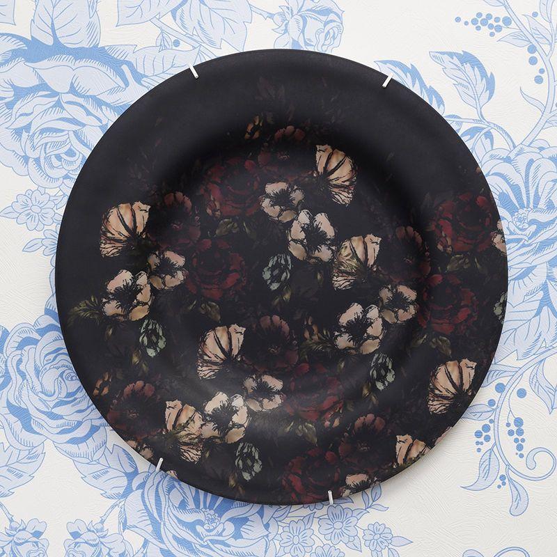 花柄 オリジナルデザイン 印刷 ウォールプレート
