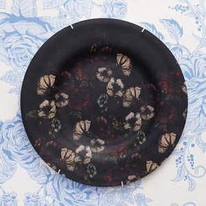 dekorativa tallrikar med eget tryck