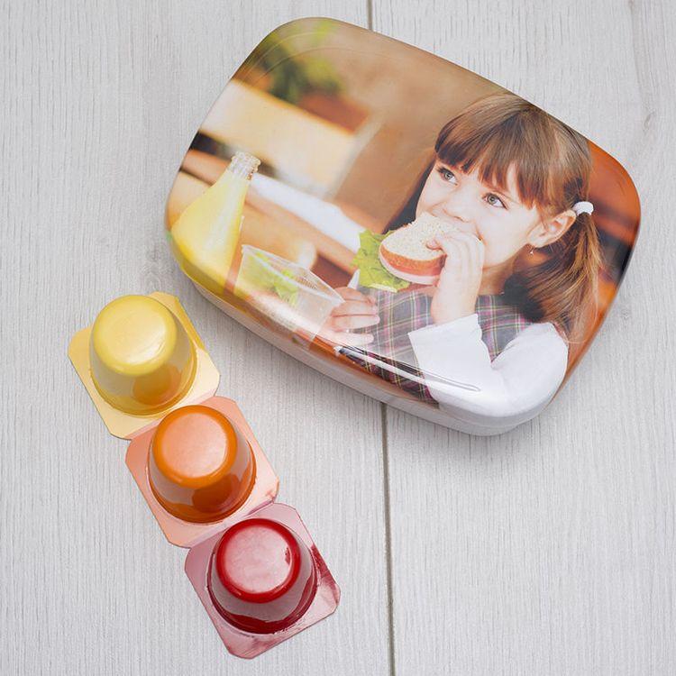 Lunch box personnalisée avec photo enfant