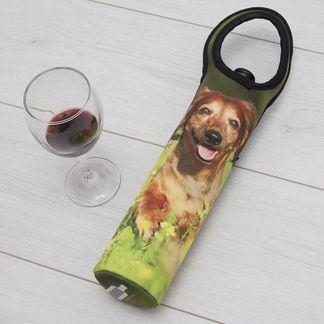 porta botellas con fotos para amigo invisible
