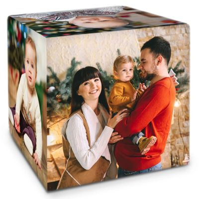 cubo de fotos para regalar el dia del padre