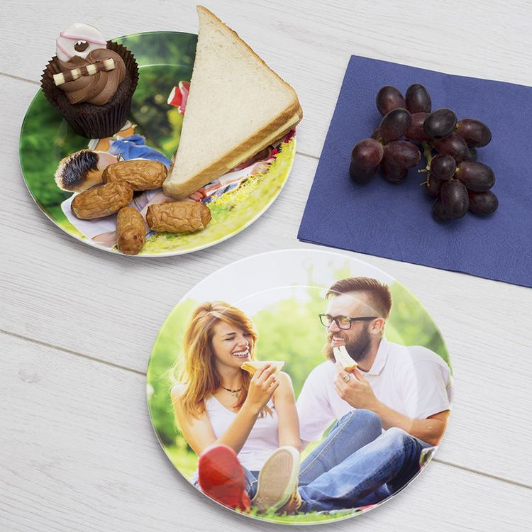 hygienic plastic plates for christmas