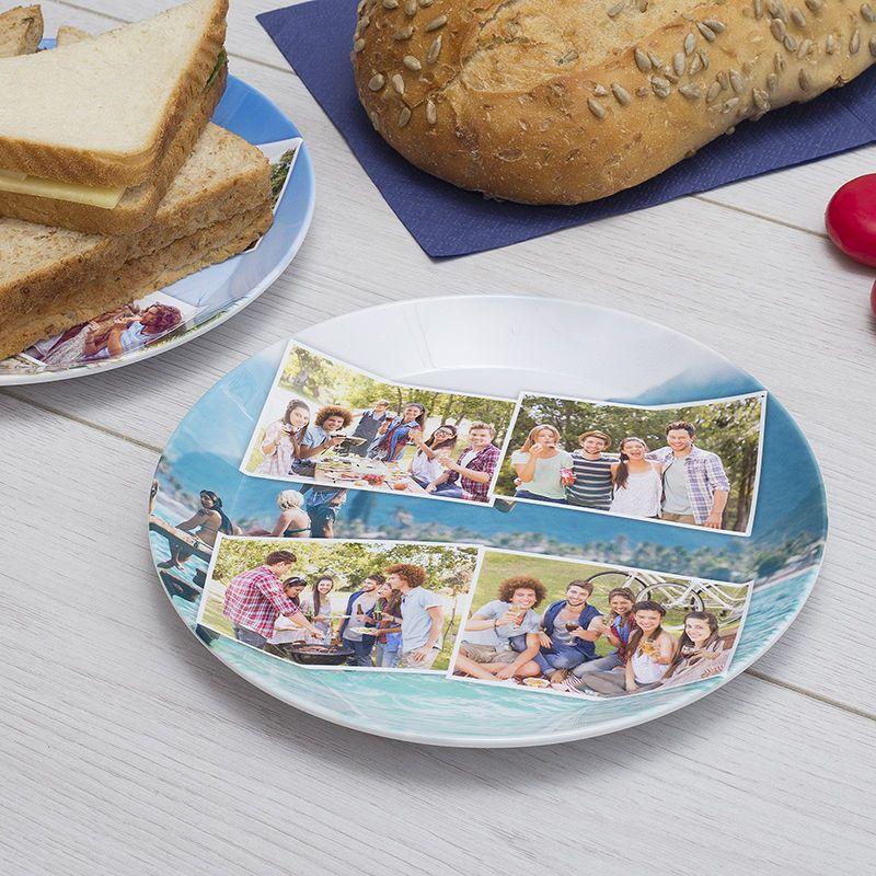 piatti di plastica personalizzati