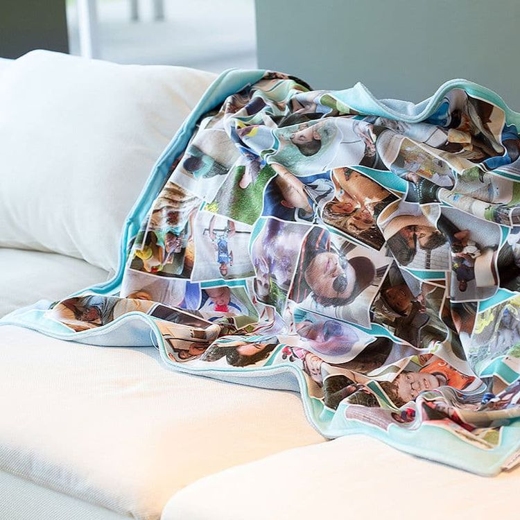 custom football blankets