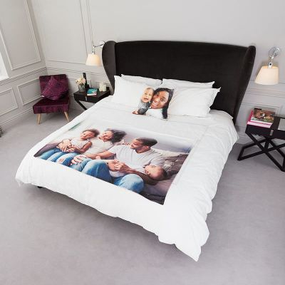 personalised bedspread gift