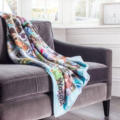 manta polar regalo de primera comunion personalizado
