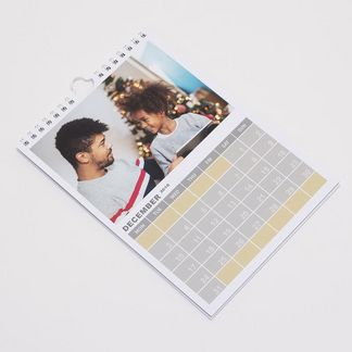fotokalender zum aufhängen selbst gestalten