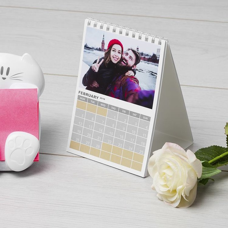 Customize Calendar 2019 Custom Photo Calendar 2019 | A6 Calendars With Your Photos