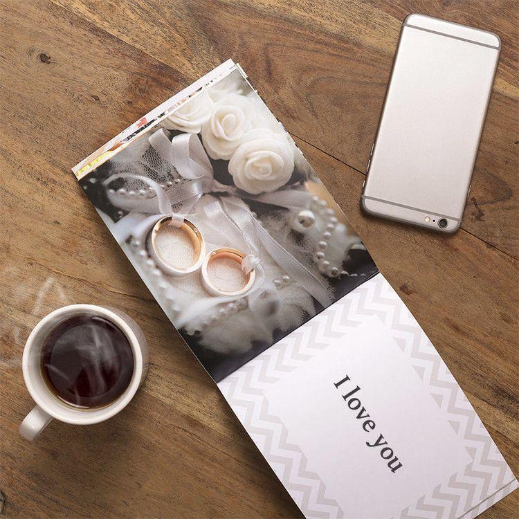 custom book of love with photos