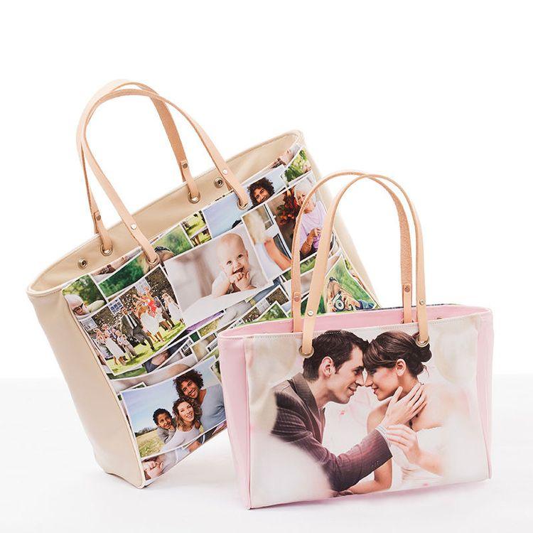 handtassen met fotoprint
