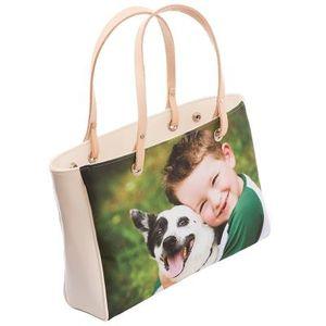 borsa artigianale con foto