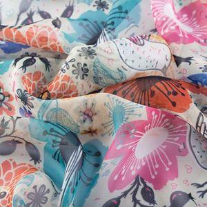 Chiffon Fabric Printing