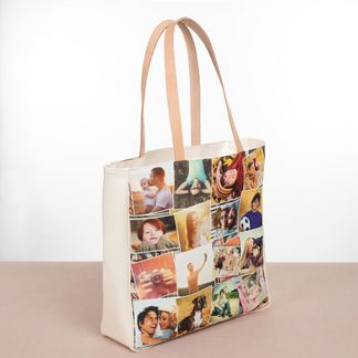 bolso para ir de compras fotocollage