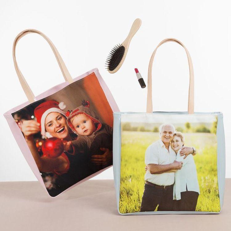 Shopper Tasche selbst gestalten mit Foto und Text