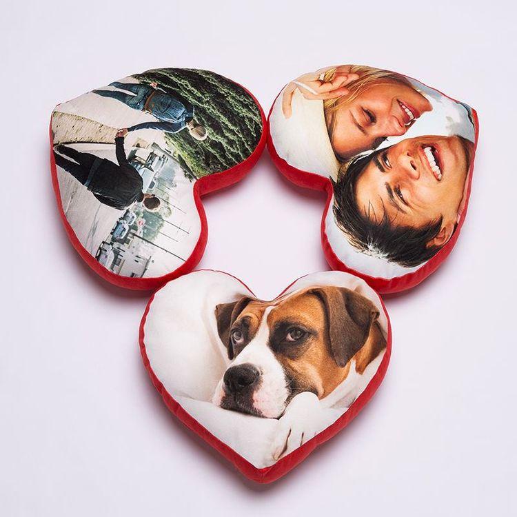 Customized Heart Cushion