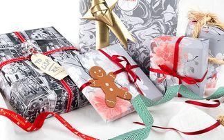 Papier cadeau et cartes imprimés