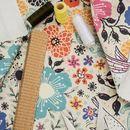 Impresión textil en tela vaquera