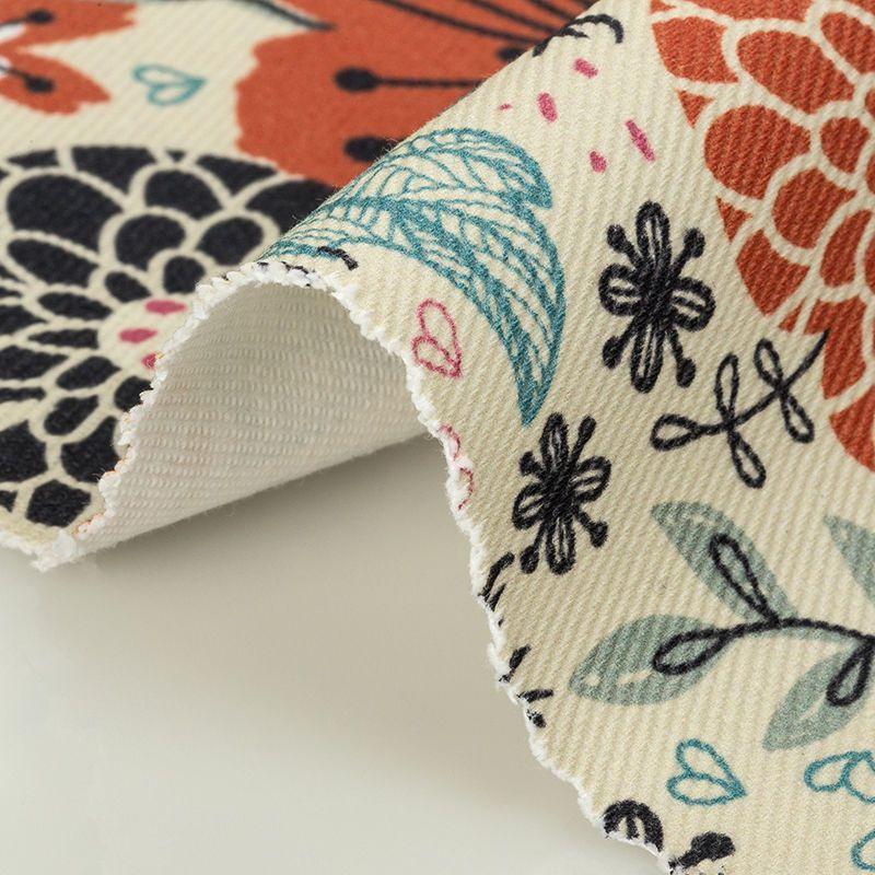 Order printed 100% cotton denim fabric online