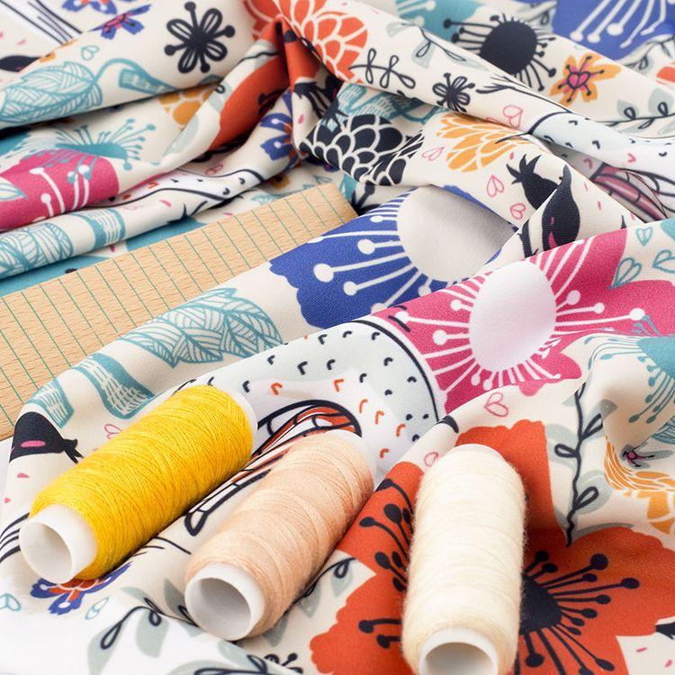 Tissu Lycra imprimé en ligne