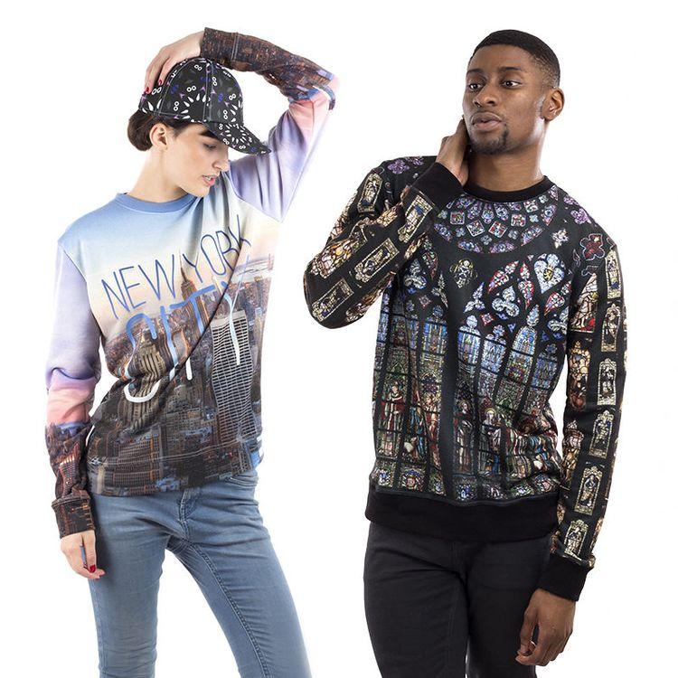 Designa din egen sweatshirt