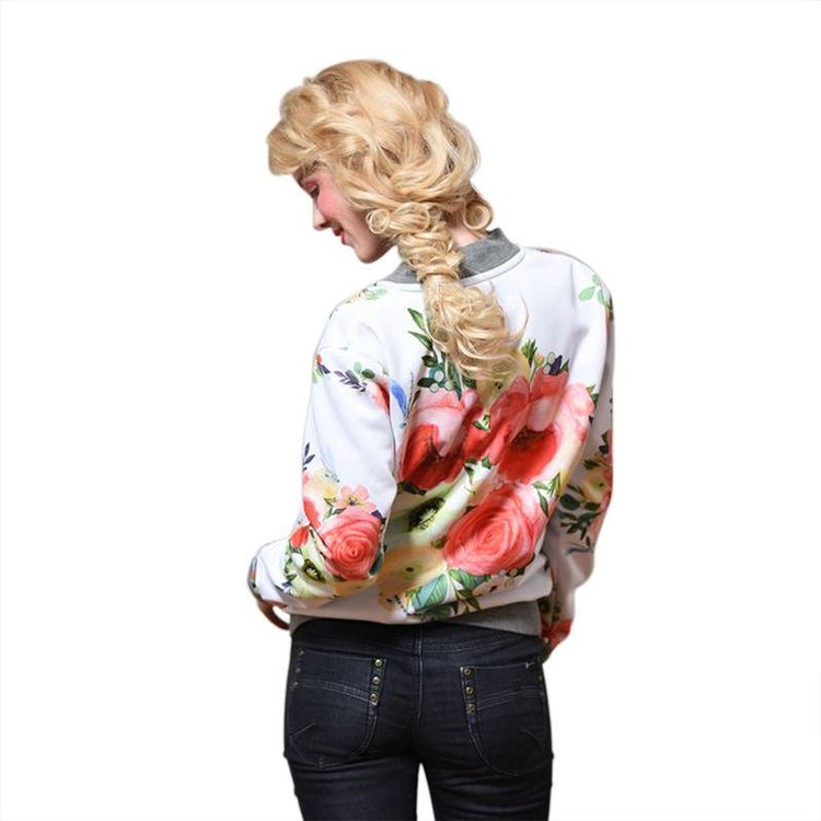 veste bomber femme personnalisable de dos