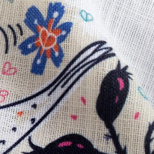 stampa su stoffe di lino