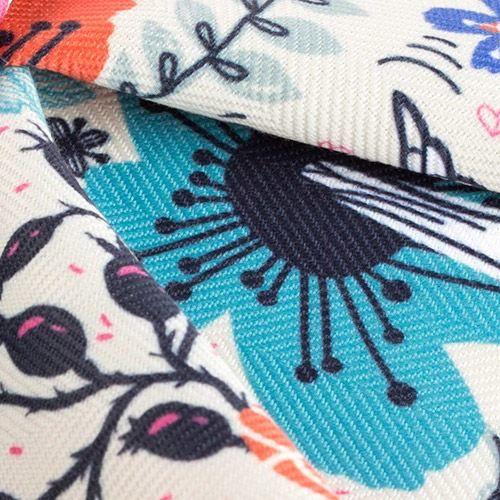 Mayfair Herringbone woven fabric