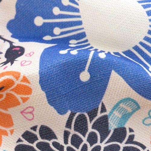 natuurlijke katoen-linnen stof