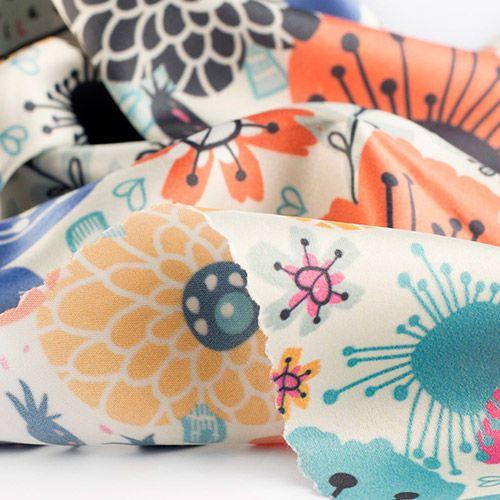 Siden Sensation på metervara   Silk fabric online