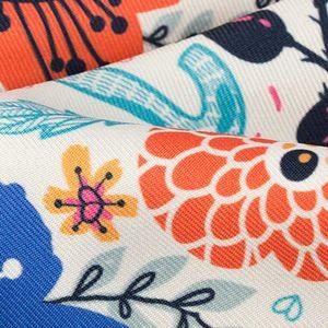 custom fabrics for ottoman