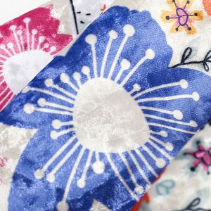 customized velvet fabric