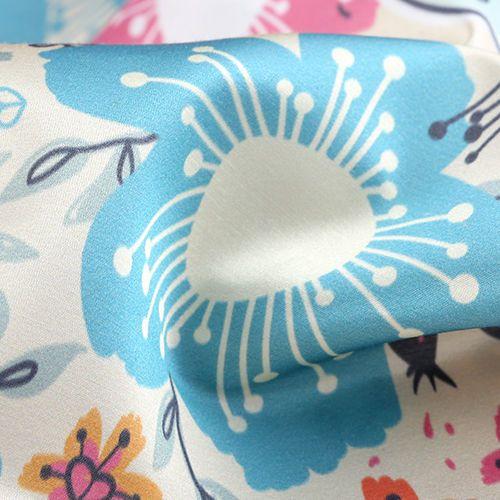 satén de seda para ropa interior
