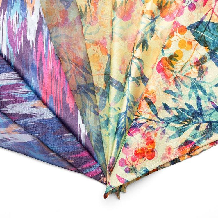 Real Silk Printing Custom  Design Your Own Real Silk Fabric
