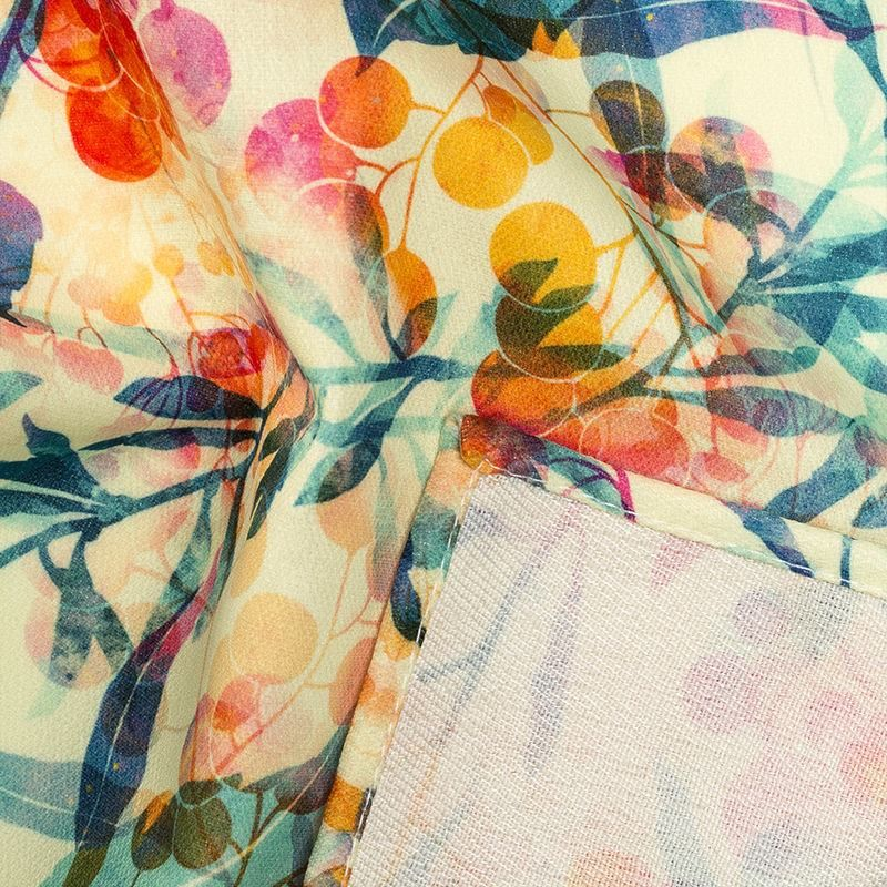 digital printing onto silk fabric  silk printed with your