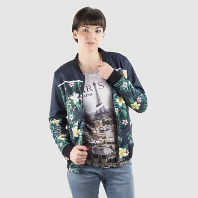 giacca bomber da donna personalizzata