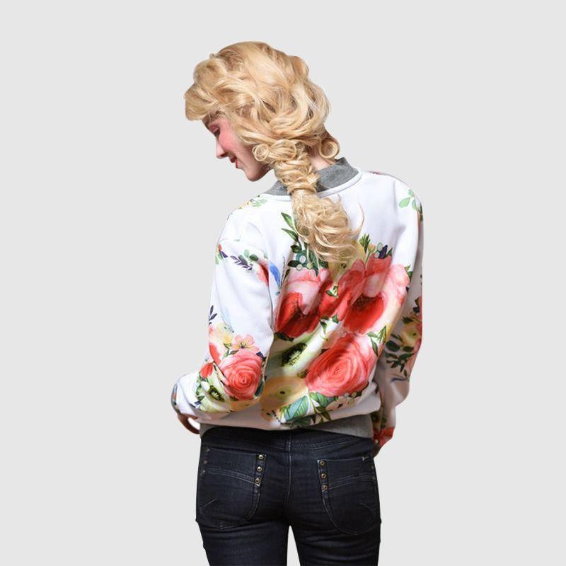 giacche floreali personalizzate da donna