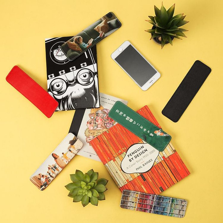 Custom Leather Bookmarks