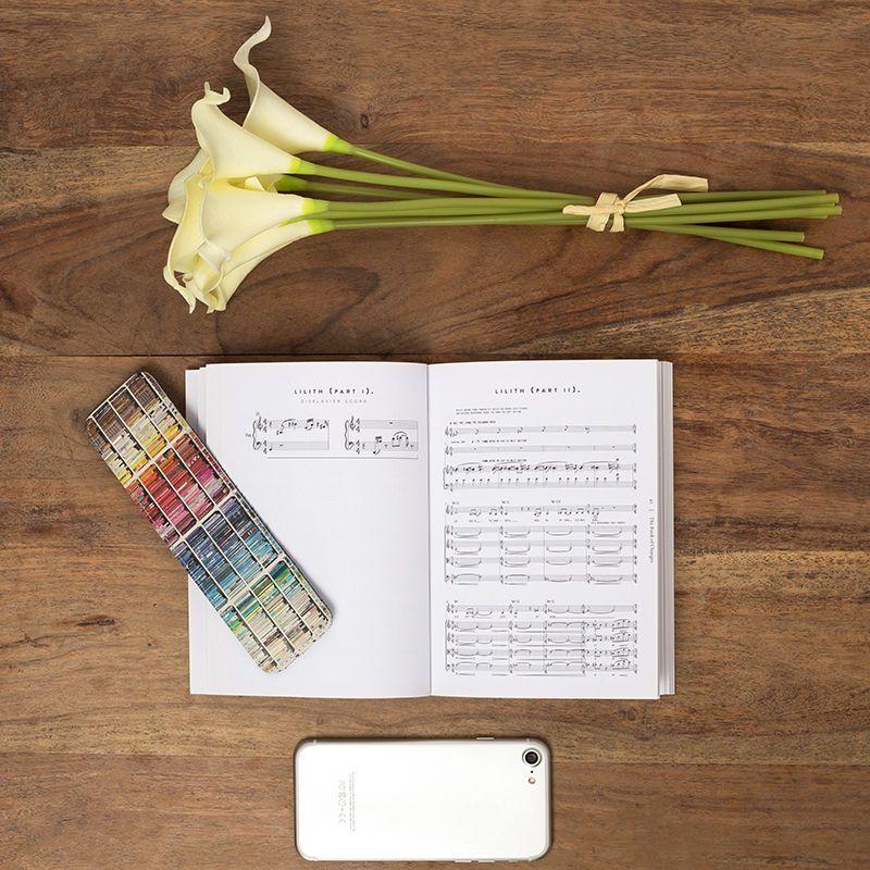Marque-page original pour livre de musique