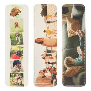 Photo Leather Bookmark