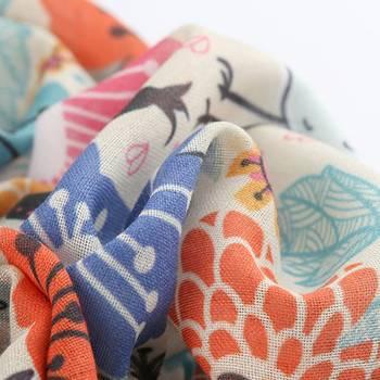 custom muslin printing