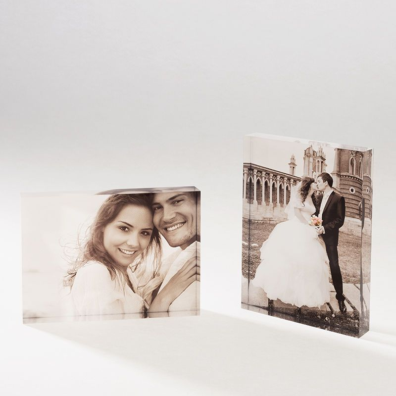 custom acrylic photo blocks