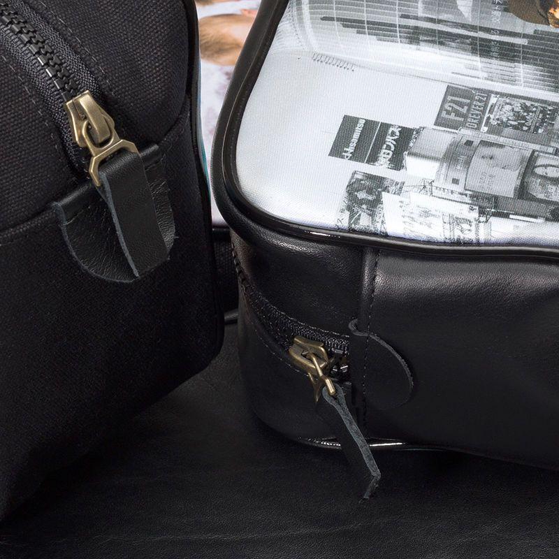 customized men's wash bag