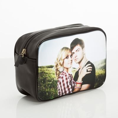 personalised wash bag for men