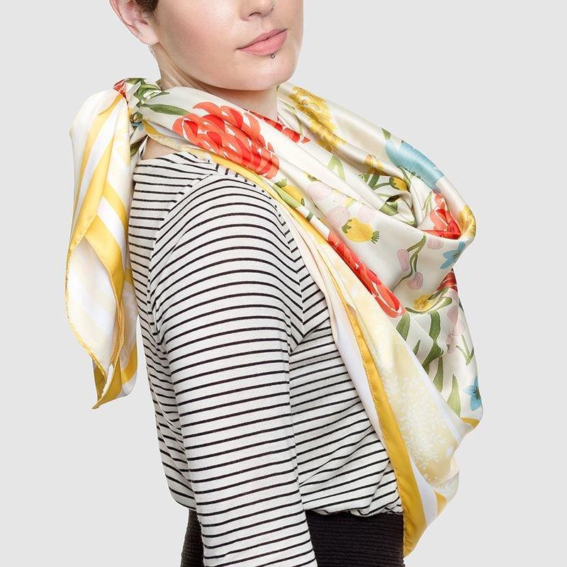 pañuelos personalizados de seda