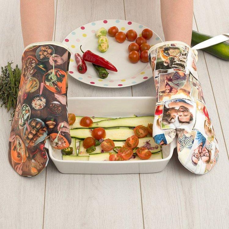 guanti da forno personalizzati
