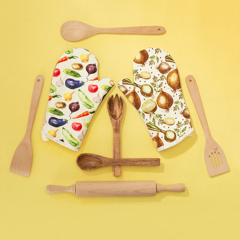 Gants de cuisine originaux avec votre design