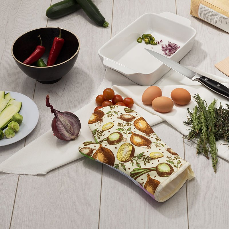 Faites votre propre gant de cuisine personnalisé