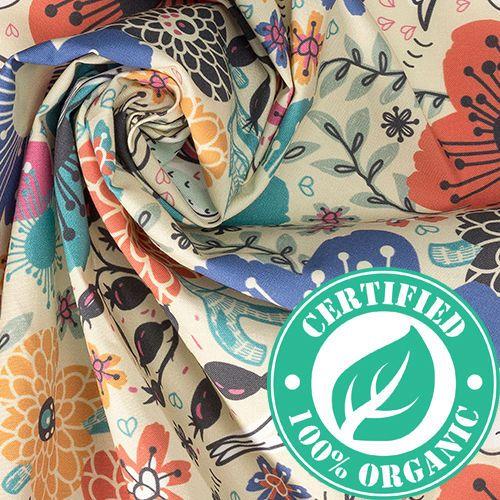 Organic Cotton Poplin lining fabric
